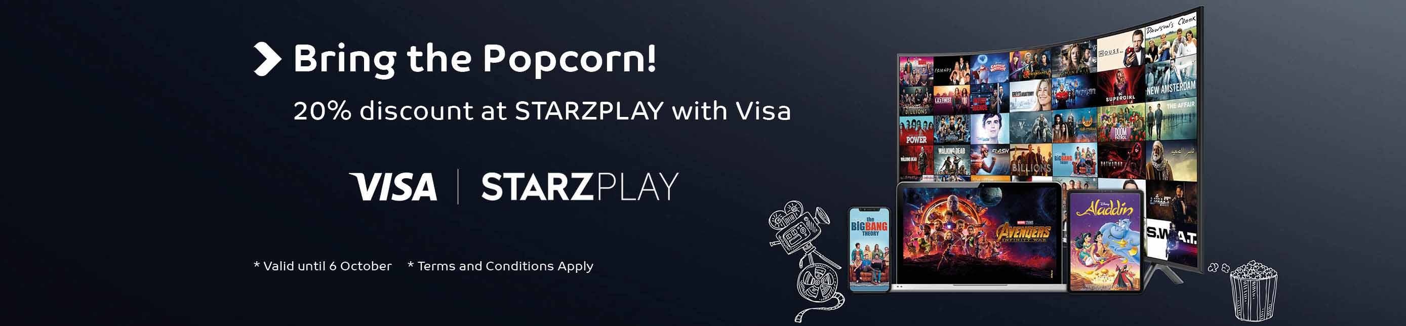 STARZPLAY and Visa Offer
